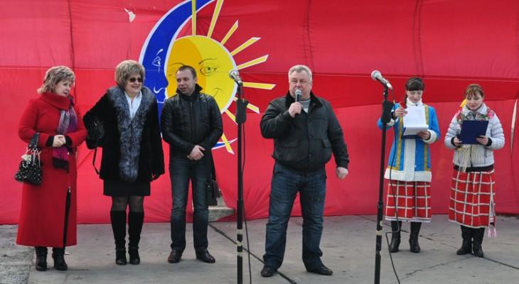 У Новомосковську народними гуляннями зустріли Масляну
