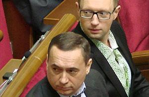 Нові тушки Яценюка?