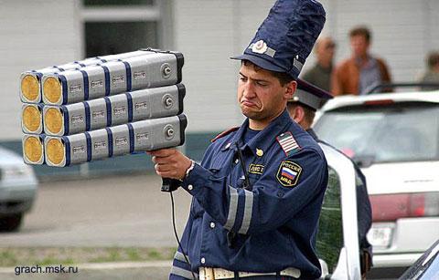 В Украине хотят штрафовать гаишников