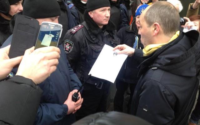 На Майдані кілька разів виникали сутички із противниками барикад [Фото. Відео]