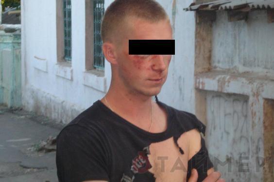 В Мариуполе грабителю жители устроили самосуд (ВИДЕО)