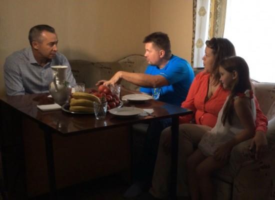 В Днепропетровске беженцы с Донбасса получили шанс на новую жизнь