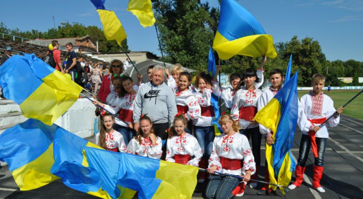 Новомосковськ святкує День фізичної культури та спорту.