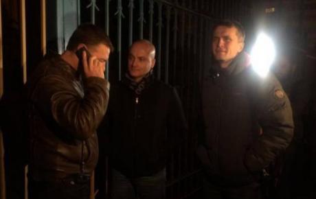 Нардепи від «Укропу» вночі намагалися потрапити в ЦВК