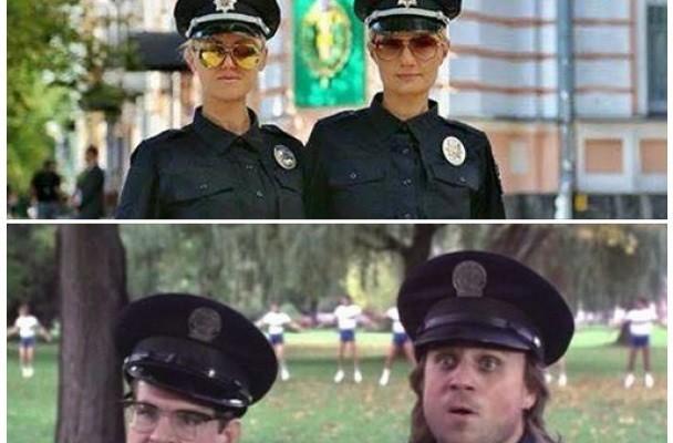 Идиотизм полицейских продолжается