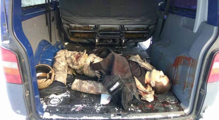 """В интернете появились фотографии убитых """"разведчика"""" и одного из КОРДовцев. (ФОТО)18+"""