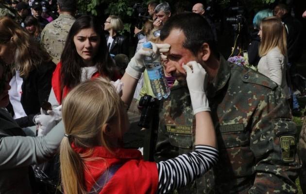 В Днипре отпустили всех титушек, нападавших на бойцов АТО 9 мая