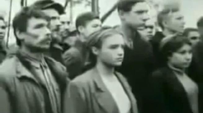 КАЗНЬ БАНДЕРОВЦЕВ. КИЕВ, 1945 ГОД. УНИКАЛЬНОЕ ВИДЕО