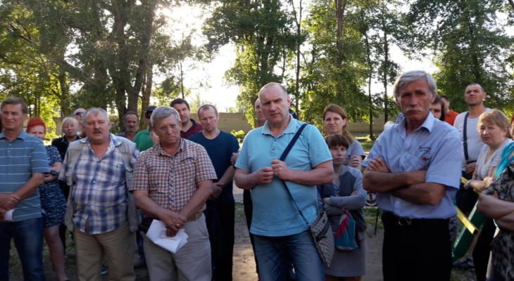 В День защиты детей жители Новомосковска защищали своих детей от местной власти (ФОТО-ВИДЕО)