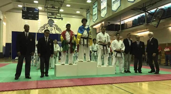 Каратисти з Дніпра перемогли на престижних змаганнях в США