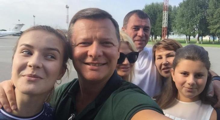Олег Ляшко отправился на отдых в Барселону в нетрадиционной компании