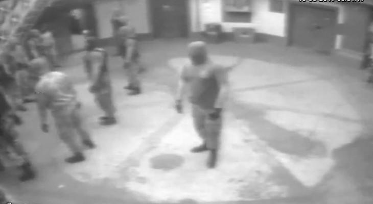 ГПУ опубликовала видео избиения спецназом арестантов Одесского СИЗО