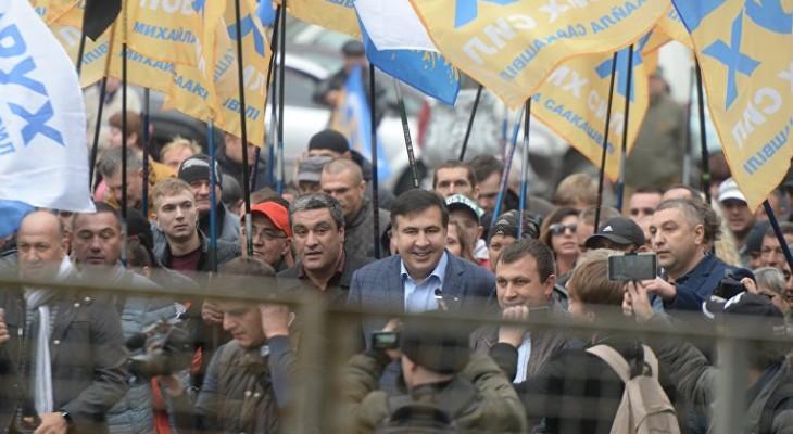 У наметового містечка біля Верховної Ради з'явився свій Гімн!(ВІДЕО)