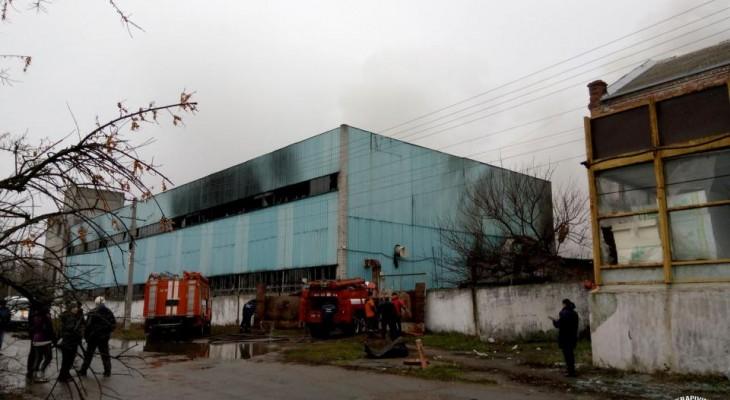 Взрыв на Новомосковском механическом заводе (ВИДЕО)