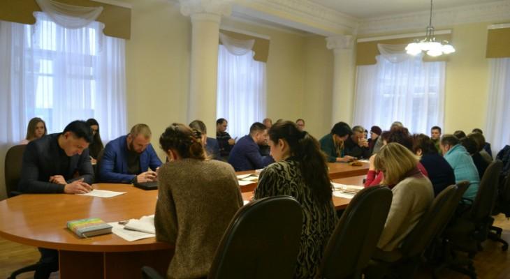 У Новомосковську відбулось чергове засідання виконкому