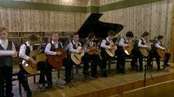 """Ансамбль гітаристів """"Джусмікс"""" зайняв друге місце на музичному конкурсі у Дніпрі"""