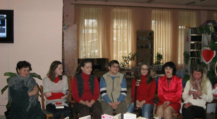 На передодні Дня Святого Валентина новомосковці завітали на літературний акорд