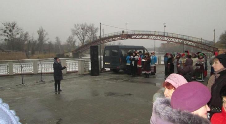В Новомосковск отпраздновал  Масленицу