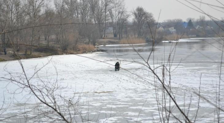 Новомосковские рыбаки испытывают удачу!
