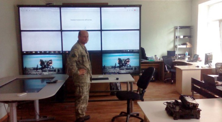 Військова частина з Новомосковського району встановить систему відеоспостереження на своєму полігоні