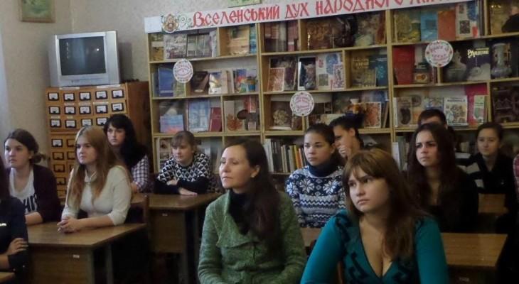 У Новомосковській бібліотеці провели театральний калейдоскоп