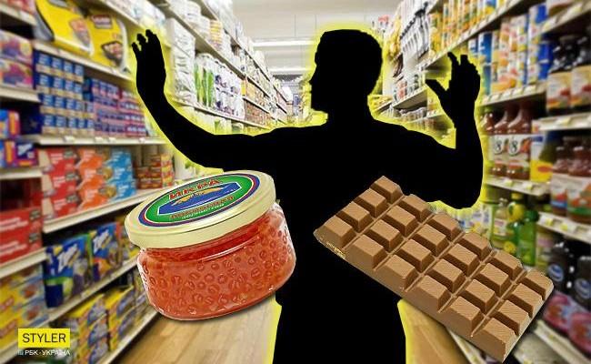 У Новомосковську касирку із супермаркету і її чоловіка спіймали на крадіжках