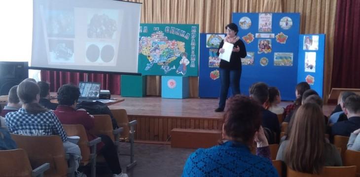 Новомосковські школярі прийняли участь у етапах профорієнтаційного квесту