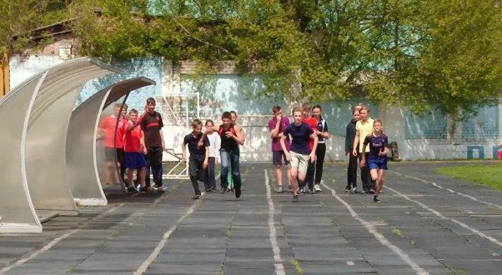 В Новомосковске состоялись межшкольные соревнование по легкой атлетике