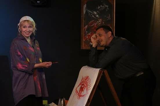 У Новомосковську відбулась прем'єра п'єси «Одного разу в ночі»