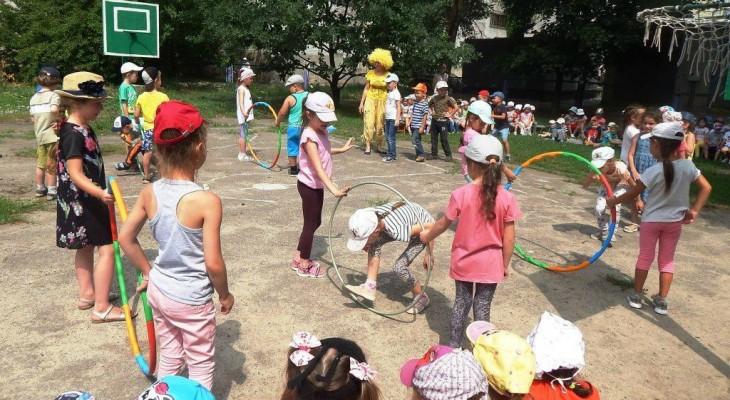 У Новомосковському ЗДО № 10 «Дюймовочка» відбулись фізкультурно-оздоровчі конкурси та розваги