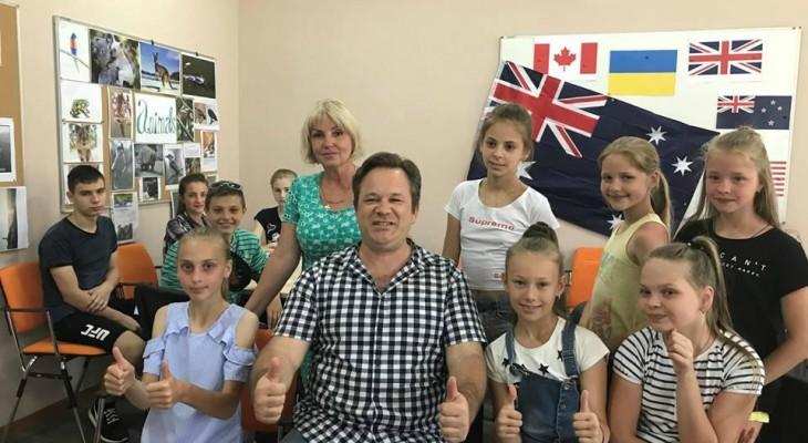 На Новомосковщині відкрився літній англомовний табір для дітей