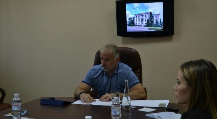 В Новомосковске состоялась встреча народного депутата Украины Вадима Нестеренко с представителями основных СМИ города