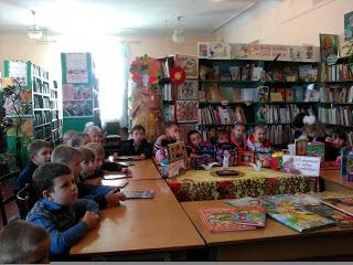 У Новомосковську майбутні маленькі читачі знайомились з бібліотекою