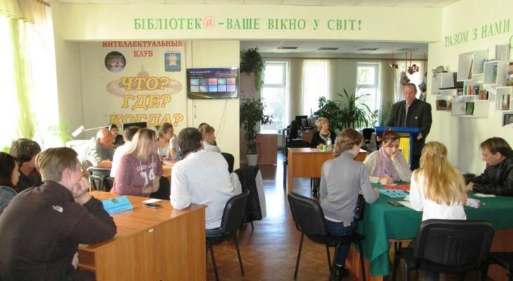 В Новомосковске прошёл очередной турнир по игре Что? Где? Когда?