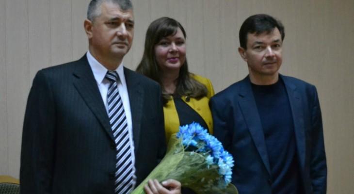 У Новомосковську офіційно привітали нового корумпованного голову райдержадміністрації