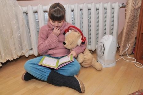 В Новомосковске несмотря на большой долг за газ будет включено отопление