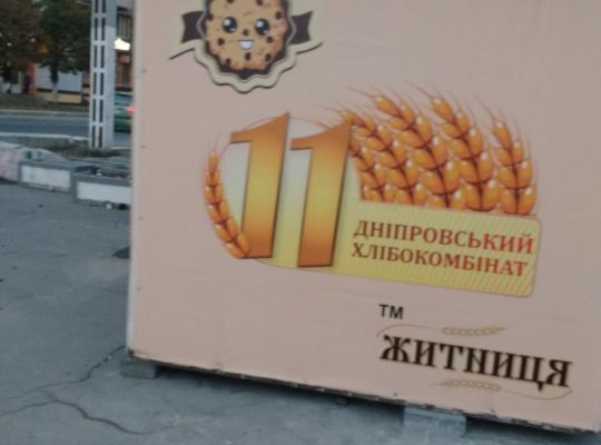 В Новомосковске киоски перекрыли пешеходные зоны