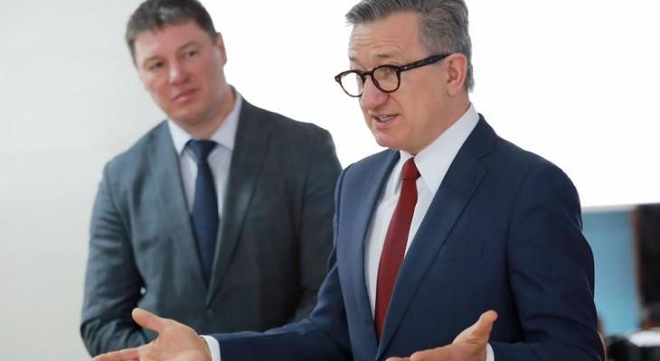 Кандидат на пост Президента Украины Сергей Тарута посетил Днепропетровщину