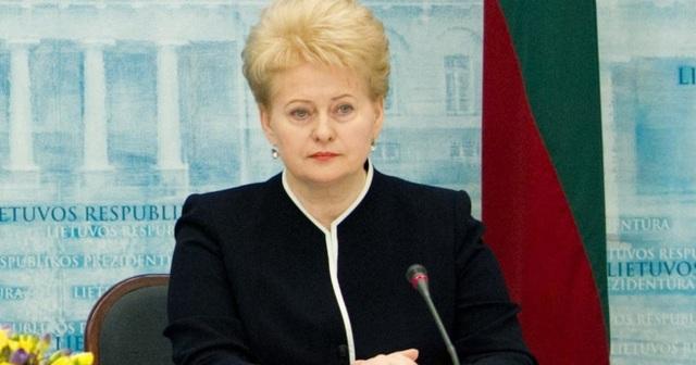 Порошенко вредит Украине больше, чем Путин — Грибаускайте