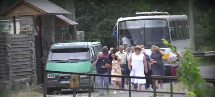 Королева села Рославичи Анна Чубенко