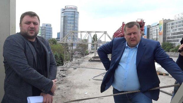 Мост Бори Филатова. Вид снизу ужасает…
