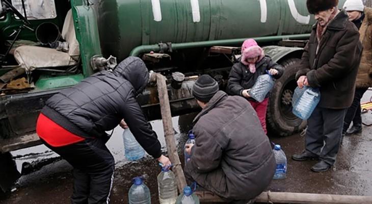 Военный городок в Днепропетровской области остался без воды