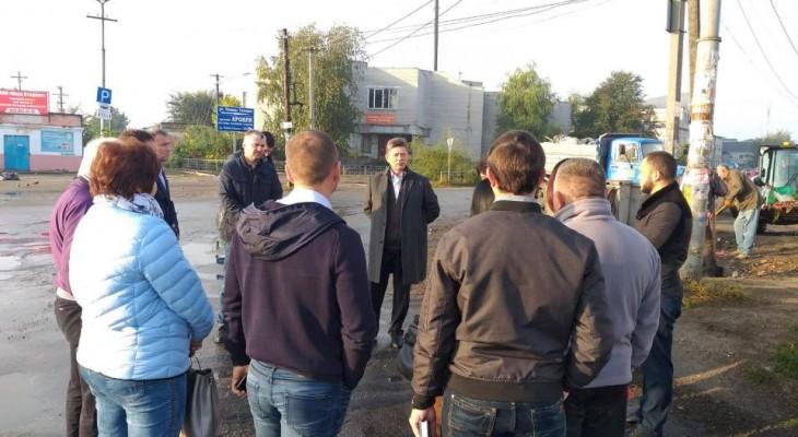 Новомосковска городская власть провела выездное совещание.