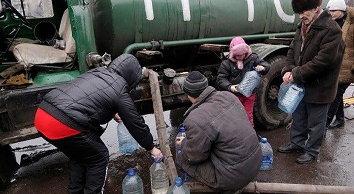 Жителі війскового містечка Гвардійського на Дніпропетровщині залишаються без води і тепла