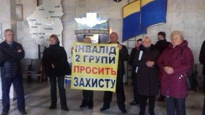 Президента Зеленського у Тернополі зустріли с криками ГАНЬБА