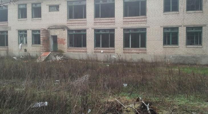 Эти руины не в Донецке или Луганске. Это детский садик в городе Новомосковске.