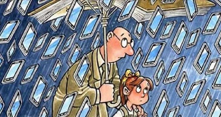 «Забери у ребенка телефон» — стихотворение для каждого родителя