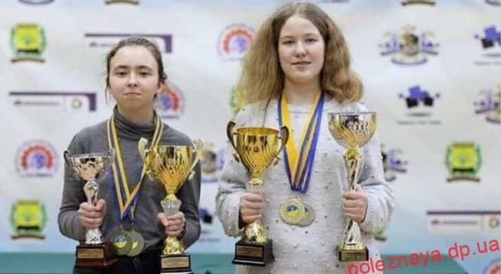 Анастасія Дубовик з Новомосковська перемогла на Чемпіонаті України з шахів