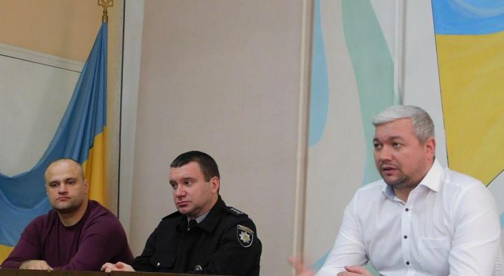 В Новомосковске поменяли начальника полиции