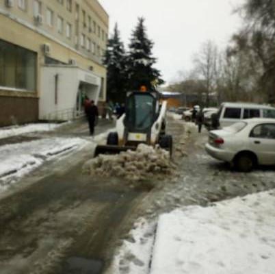 Комунальные службы города достойно встретили непогоду, которая накрыла Новомосковск
